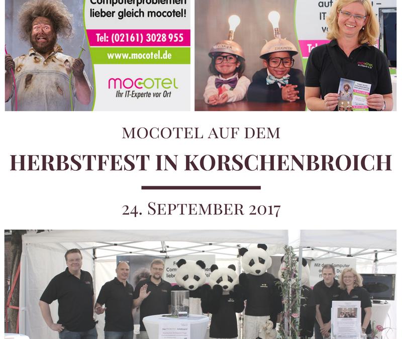 Herbstfest 2017 in Korschenbroich